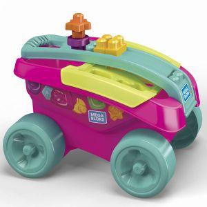 Mega Bloks Mon wagon trieur de formes - rose, FVJ48
