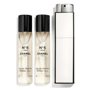 Chanel N°5 L'Eau - Eau de toilette pour femme - 3 x 20 ml