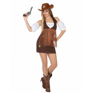 Atosa 26549 - Déguisement pour adulte Cowgirl