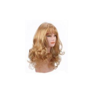 Beautydis Elsa - Perruque longue 40-45 cm ondulée Blond clair doré 9.3