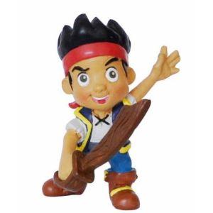 Bullyland Figurine Jake 6 cm avec épée - Jake et les Pirates du Pays Imaginaire
