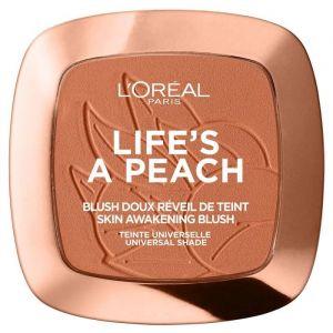 L'Oréal Life's a Peach - Blush doux réveil de teint