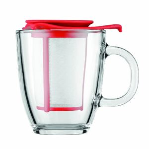 Bodum Mug infuseur Yoyo en verre avec filtre nylon (35 cl)