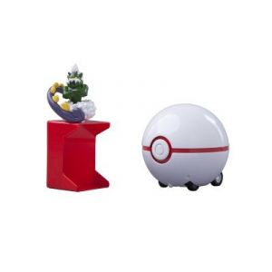 Tomy Catch'N Train Pokeball 5 cm Boreas / Honor Ball - Figurine Pokemon Black and White