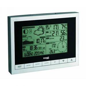TFA Dostmann Sinus (35.1095) - Station météo température extérieure et intérieure avec fonction réveil