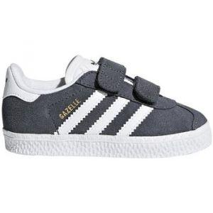 Adidas Gazelle CF I, Chaussures de Fitness Mixte Enfant, Gris (Grpudg/Ftwbla/Ftwbla 000), 25 EU