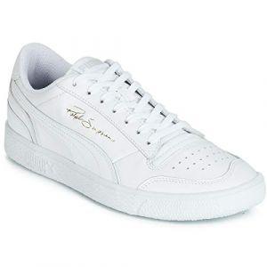 Puma Ralph Sampson Lo, Baskets Mixte Adulte, Blanc UK White 08, 40 EU