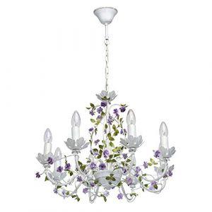 MW-Light Lustre Flora Blanc 8x40W - 421014308 - 421014308
