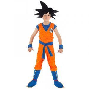 Chaks Déguisement Goku Saiyan Dragon ball Z enfant 5 à 6 ans (116 cm)
