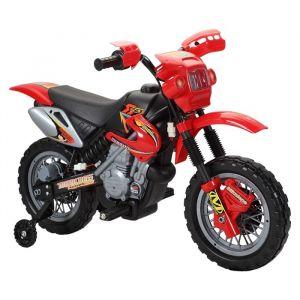 LesTendances Motocross électrique rouge - E-Road