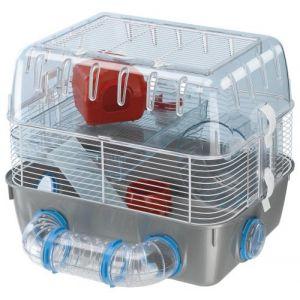 Ferplast Cage pour hamsters Combi 1 Fun Gris 40,5x29,5x32,5cm 57926499