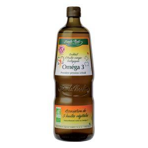 Emile Noël Cocktail d'huiles vierges biologiques Oméga 3 (1 L)
