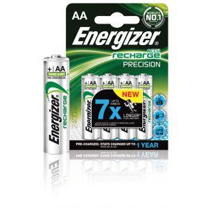 Energizer Accu Recharge Precision Blister de 4 piles HR06 2400 mAh