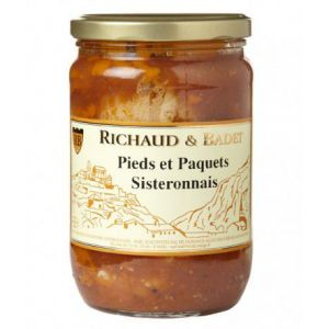 Richaud & badet Pieds et Paquets Richaud Badet 400 gr