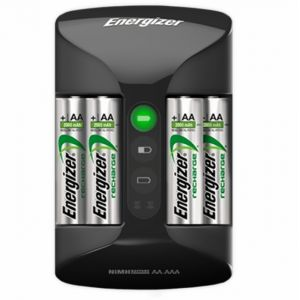 Energizer Chargeur Pro-Charger + 4 piles AA