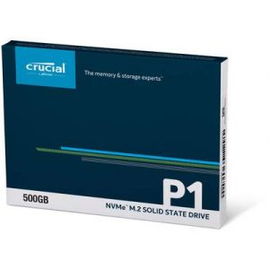 Crucial P1 M.2 PCIe NVMe 500 Go