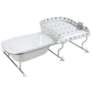 Geuther 4820 - Table à langer Varix à fixer sur un support avec baignoire