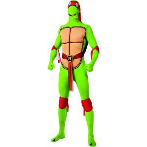 Déguisement Raphael Tortues Ninja seconde peau adulte