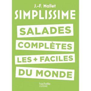 Hachette Livre de cuisine Simplissime Salades complètes