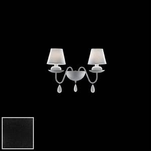 Ideal lux Applique BLANCHE AP2 - Noir