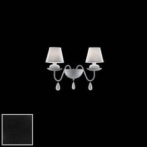 Ideal lux Applique BLANCHE AP2 - Noir