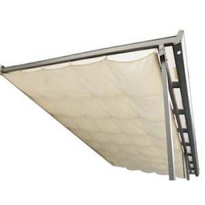Habrita Rideau d'ombrage pour toit terasse 2,85 x 4,25 m - 12,11 m2