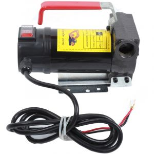 Diesel Pompe de transfert de Huile d'auto-amorçage de carburant portatif de 12 volts DC Bio - OOBEST