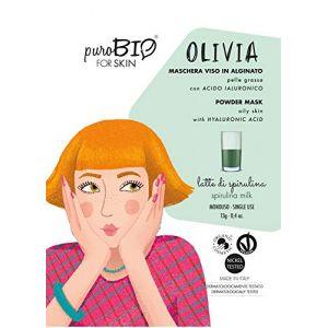 PuroBio Cosmetics ForSKIN Olivia Powder Mask Oily Skin 12 Spirulina - 13 g