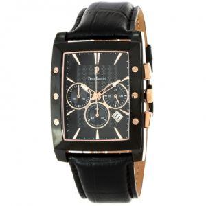 Pierre Lannier 295C4 - Montre pour homme bracelet en cuir Chronographe