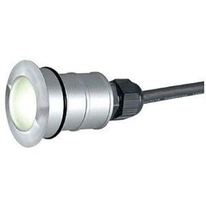 SLV 228337 - Lampe encastrée Power Trail-Lite ronde en inox - bleu