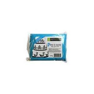 Patisdécor Pâte à sucre bleu goût vanille (250g)