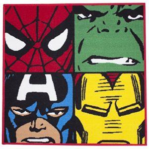 Character World Tapis carré Avengers Comics Marvel