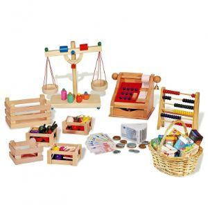 Pinolino Ensemble de 10 jeux pour jouer à la marchande
