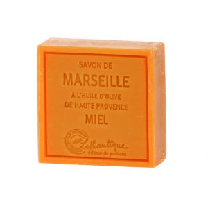 Lothantique Savon de Marseille à l'huile d'olive de haute Provence Miel