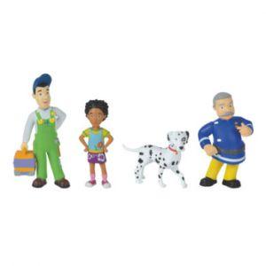 Simba Toys 109251065 Sam Pompier 4 Figurines Série 1