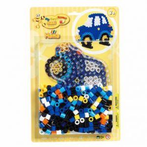 Hama Maxi Blister Voiture - MAXI 250 perles + une plaque voiture