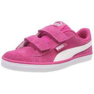 Puma Urban Plus SD V PS, Sneakers Basses Mixte Enfant, Rose (Beetroot Purple White 06), 34 EU