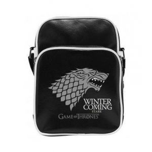 Abystyle Game of Thrones - Sac Besace Stark - Vinyle Petit Format