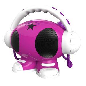 Bigben Lecteur MP3 USB avec enregistreur vocal 2 micros