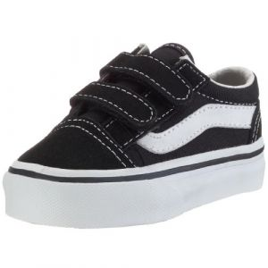 Vans T Old Skool V, Baskets mode garçons, Noir, 25 EU