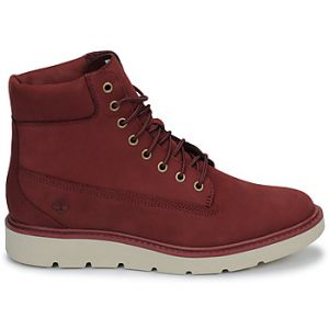 Timberland Baskets montantes KENNISTON 6IN LACE UP rouge - Taille 36,37,38,39,40,41
