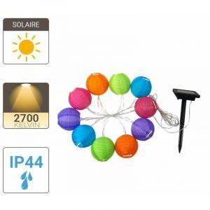 Xanlite Guirlande LED Solaire, x8 Boul