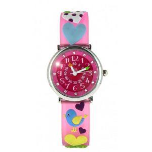 Baby Watch 60605 - Montre pour fille Pédagogique : Love Love