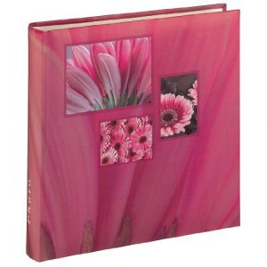 "Hama Album photo Jumbo ""Singo"", 30x30 cm, 100 pages blanches, rose"