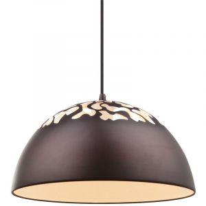 Globo Suspension lustre bronze mat blanc éclairage salle de séjour luminaire cuisine