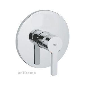 Grohe 19296000 - Façade pour mitigeur Lineare monocommande 15x21 sans inverseur automatique bain-douche chromé