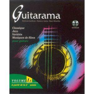 Hit diffusion Guitarama Volume 1A - Guitar - BOOK+CD