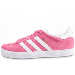 Image de Adidas Gazelle C Chaussures de Fitness Mixte Enfant, Rose