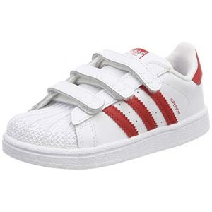 Adidas Chaussures casual Superstar CF I Originals Blanc / Rouge - Taille 20