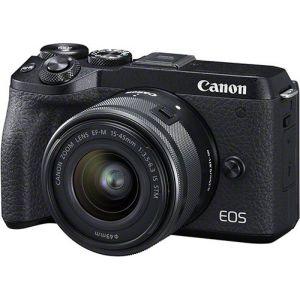 Canon EOS M6 Mark II + objectif EF-M 15-45 mm f/3.5-6.3 IS STM + Viseur électronique EVF-DC2